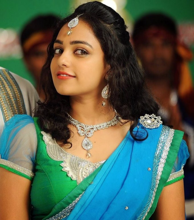 Nithya Menon Wallpapers In Saree