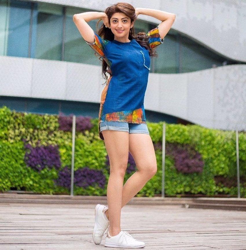 Pranitha Images In Bikini