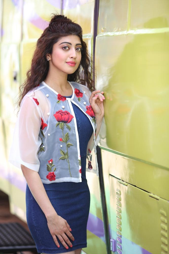 Pranitha Pics In Jeans Top