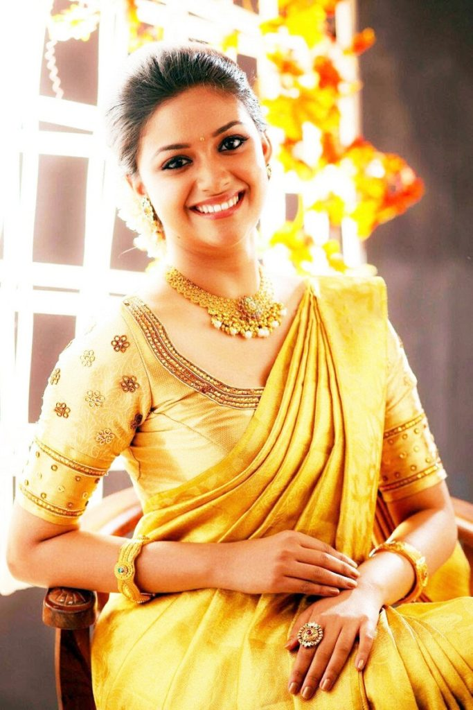 Scenic Keerthy Suresh Cute Wallpapers