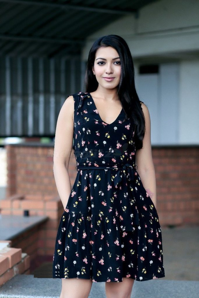 Tollywood Actress Catherine Tresa Photos In Short Dress