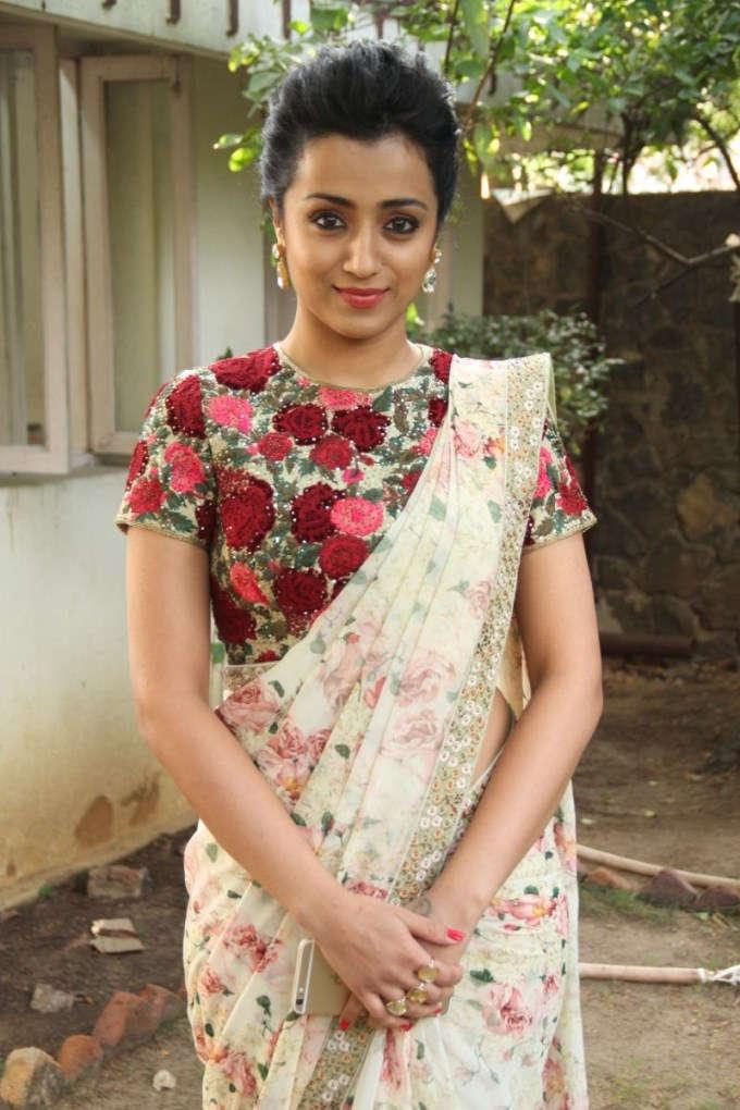 Trisha Krishnan Bold Full HD Pictures