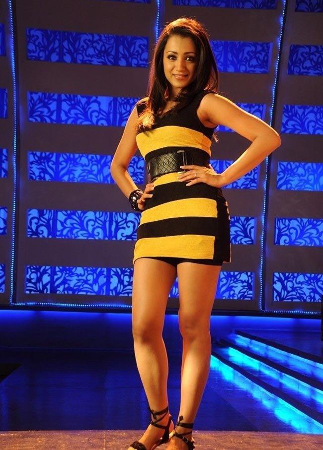 Trisha Krishnan Hot & Sexy Legs HD Pics