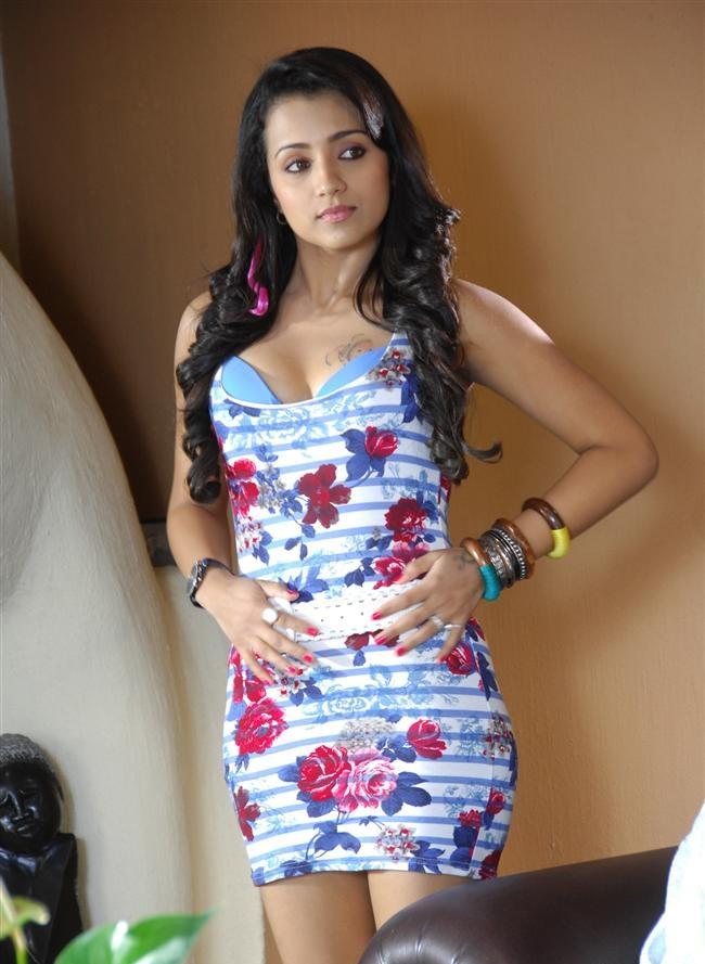 Trisha Krishnan Lovely Images