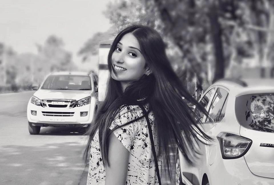 Vrushika Mehta Black & White Photoshoots