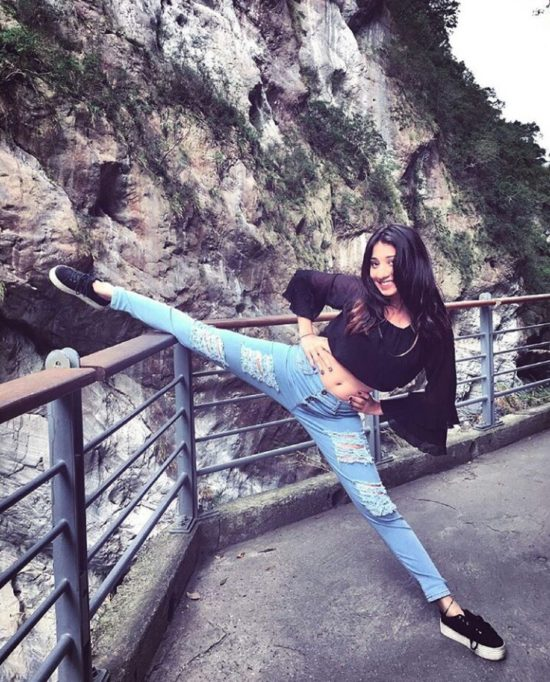 Vrushika Mehta Photos In Jeans Top