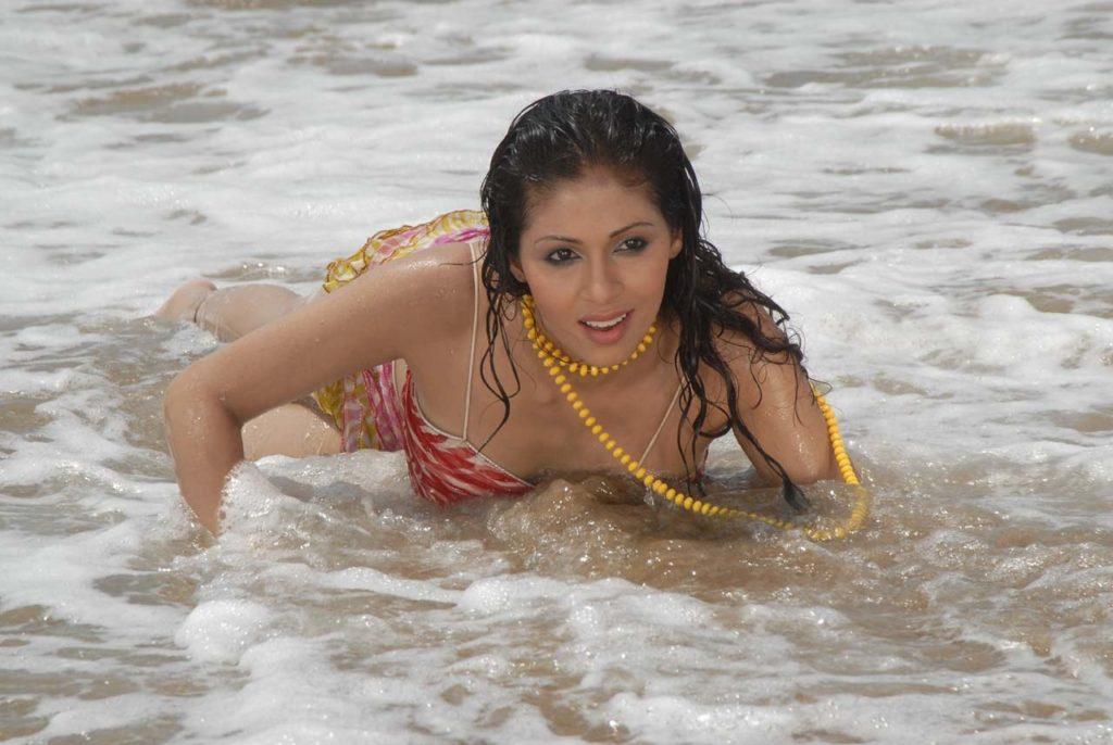 Sadha Bold Images In Bikini