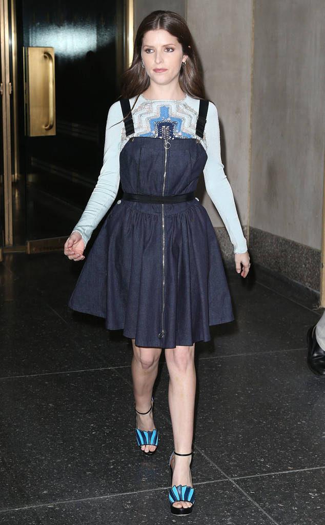Anna Kendrick Charming Photoshoots