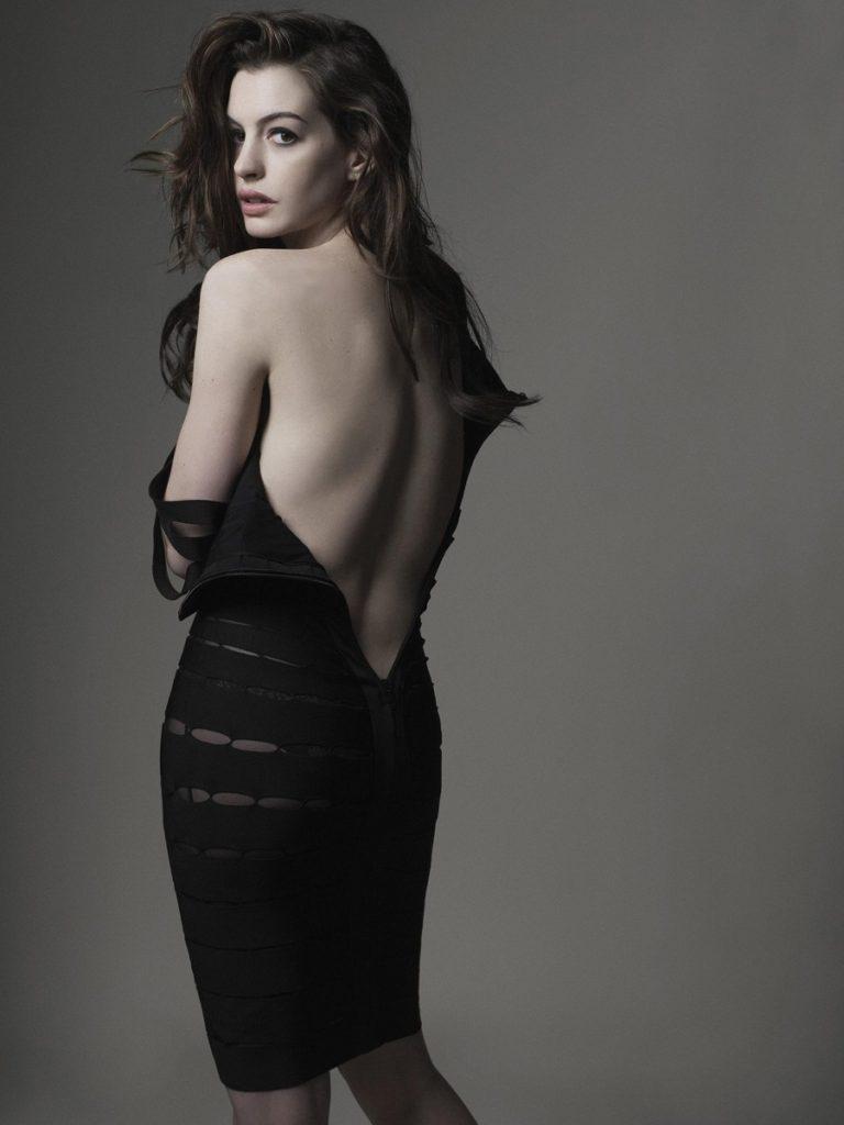 Anne Hathaway Hot Backside Images