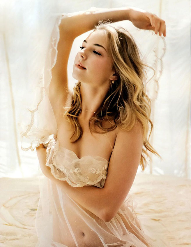Bold Emily VanCamp Hot Topless Images