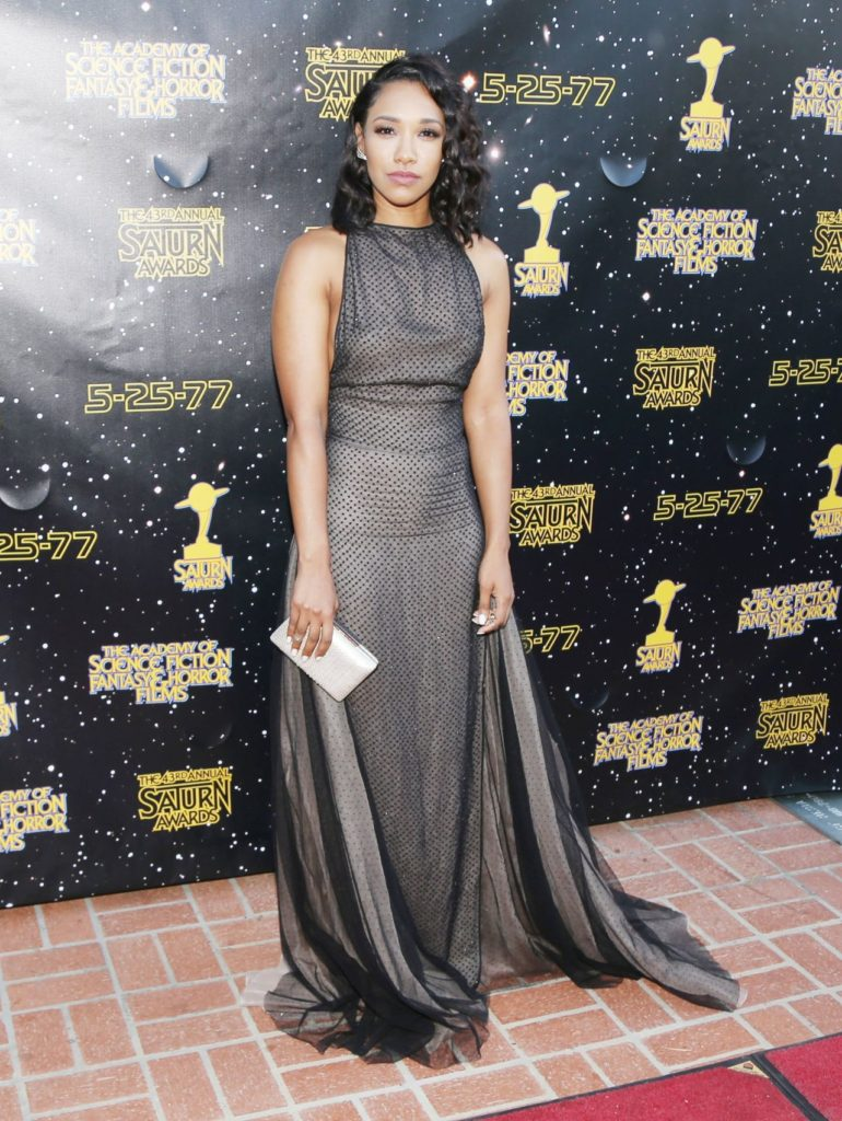 Candice Patton Lovely Pictures At Award Shows
