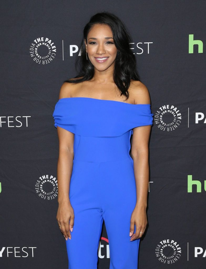 Candice Patton Lovely Smiling Wallpapers