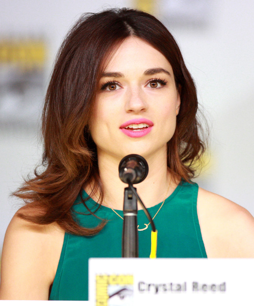 Crystal Reed Charming Photos