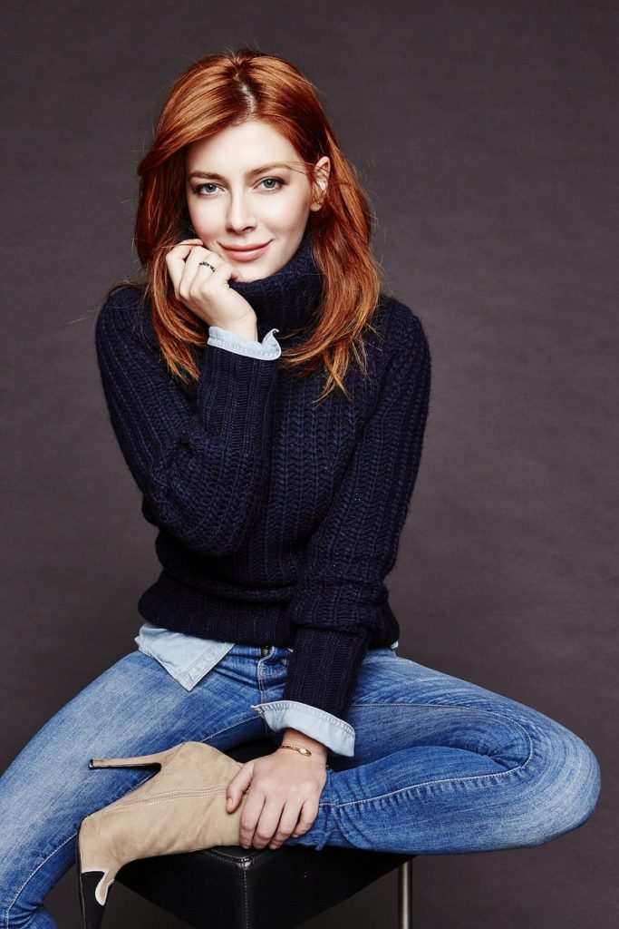 Elena Satine Images In Jeans Top