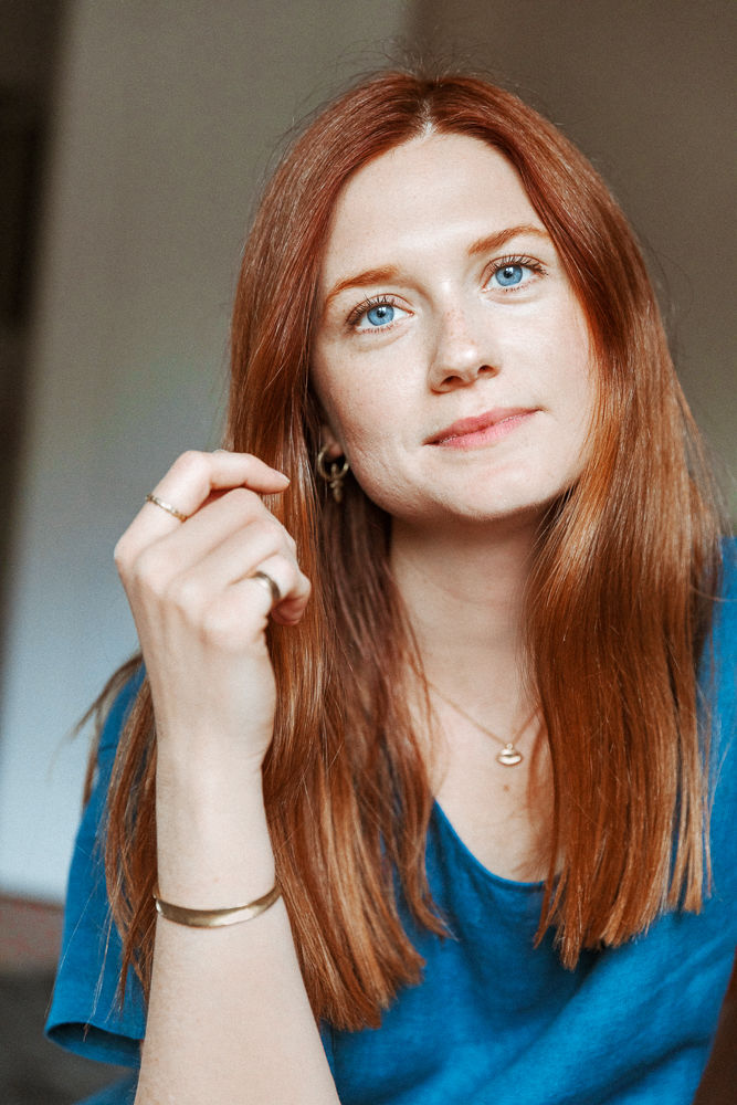 Gorgeous Bonnie Wright Photos