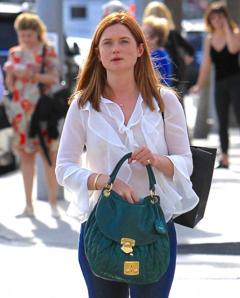 Hollywood Actress Bonnie Wright Images