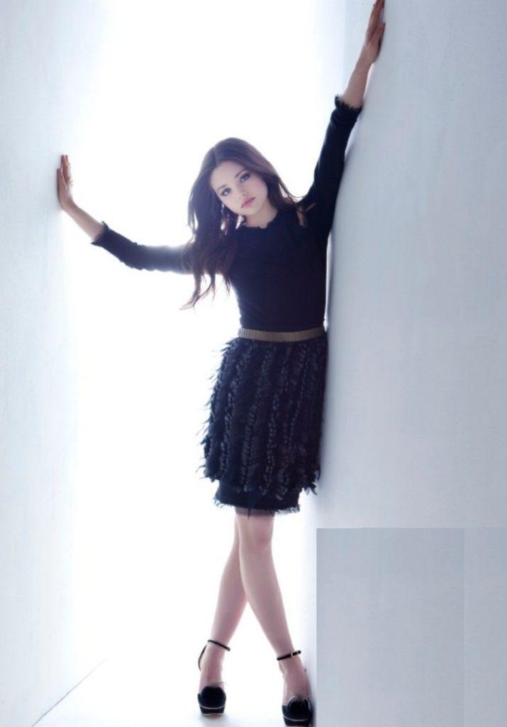 India Eisley Photoshoots In Short Dress