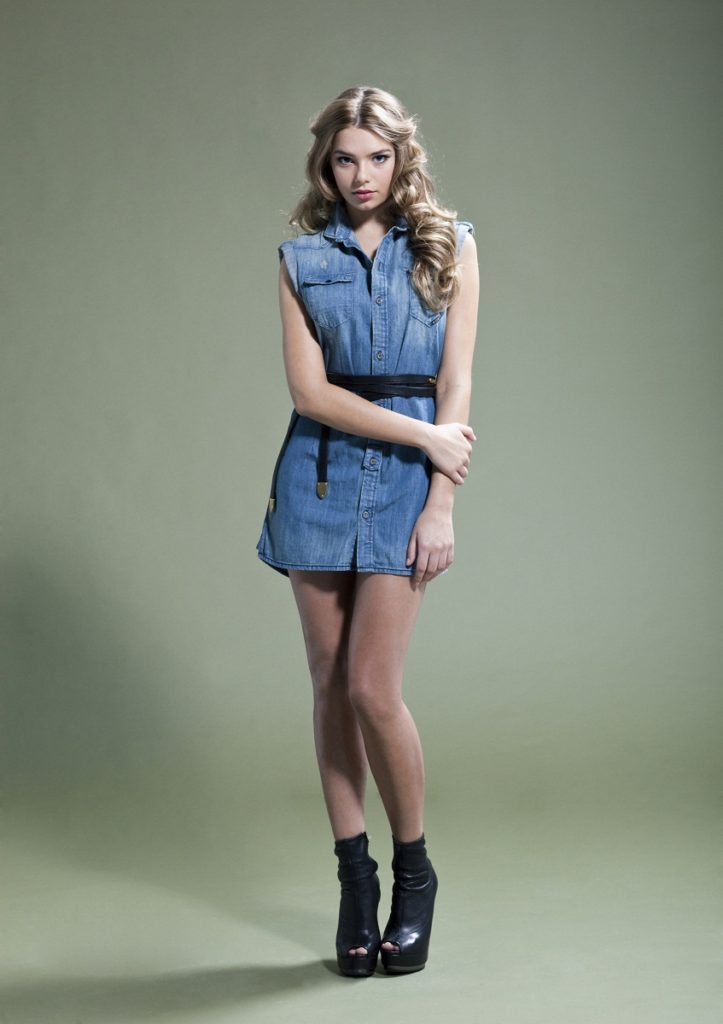 Indiana Evans Beautiful Photos In Short Dress