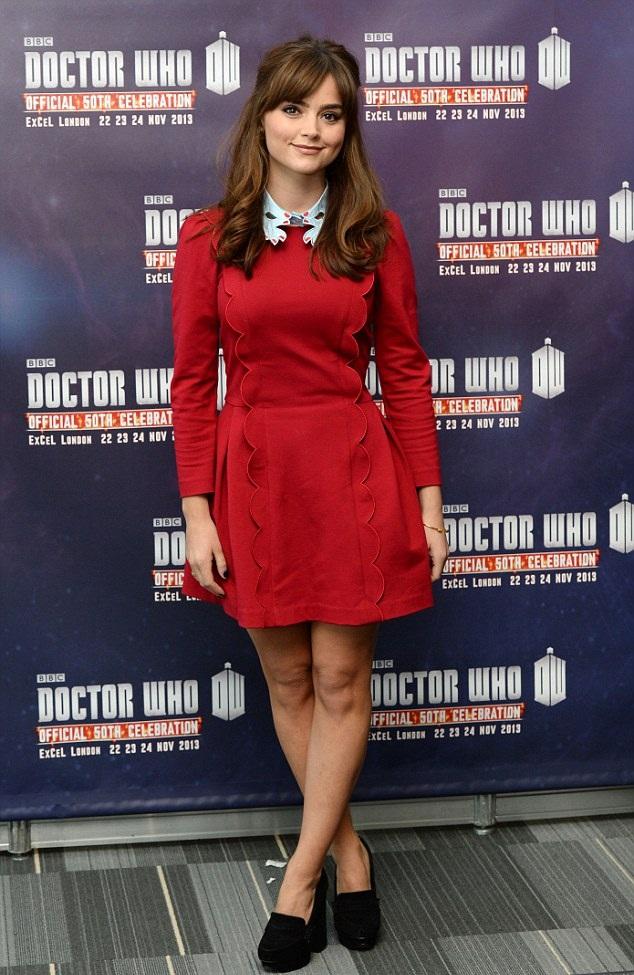 Jenna Coleman Beautiful Images At Award Show