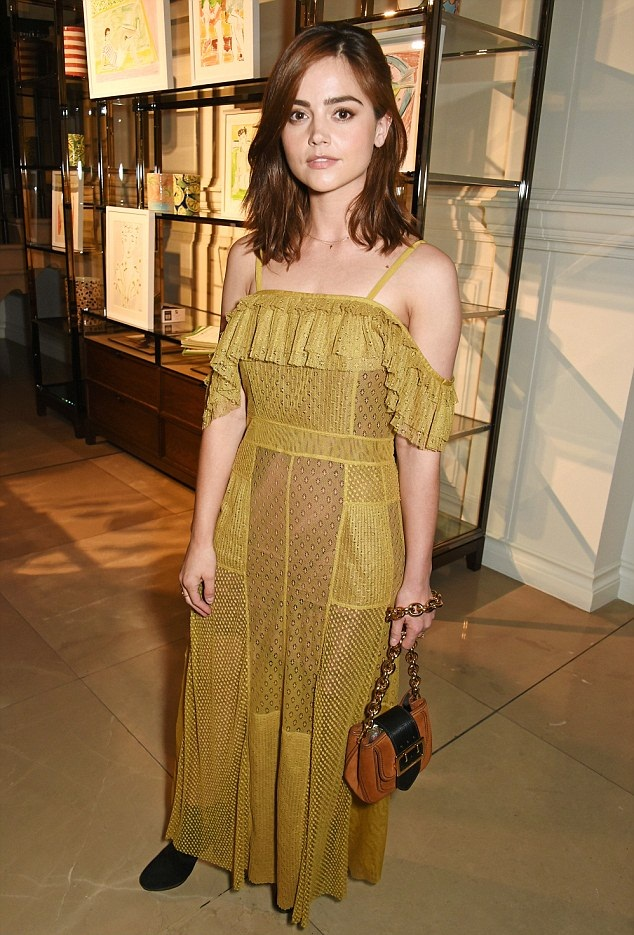 Jenna Coleman Cute & Lovely Wallpapers