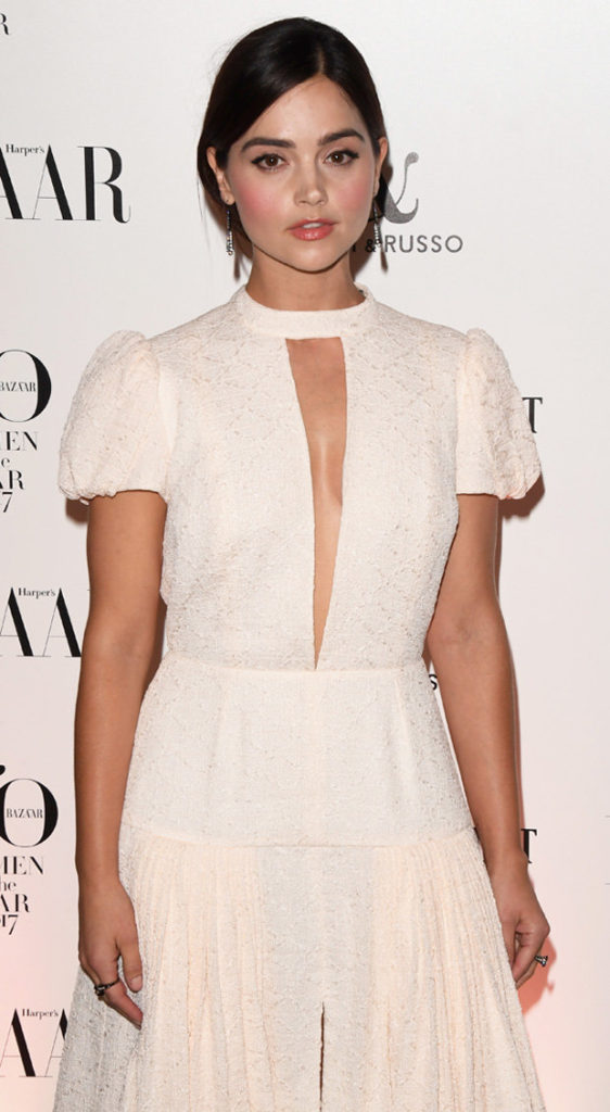 Jenna Coleman Latest Hair Style Images