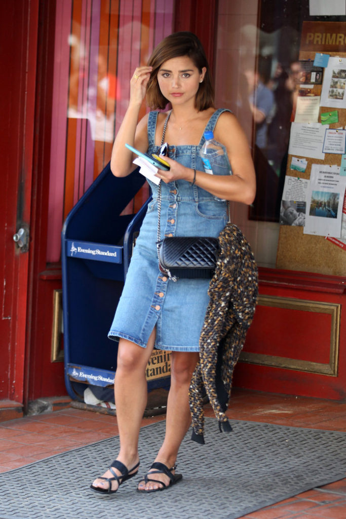 Jenna Coleman New Look Photos