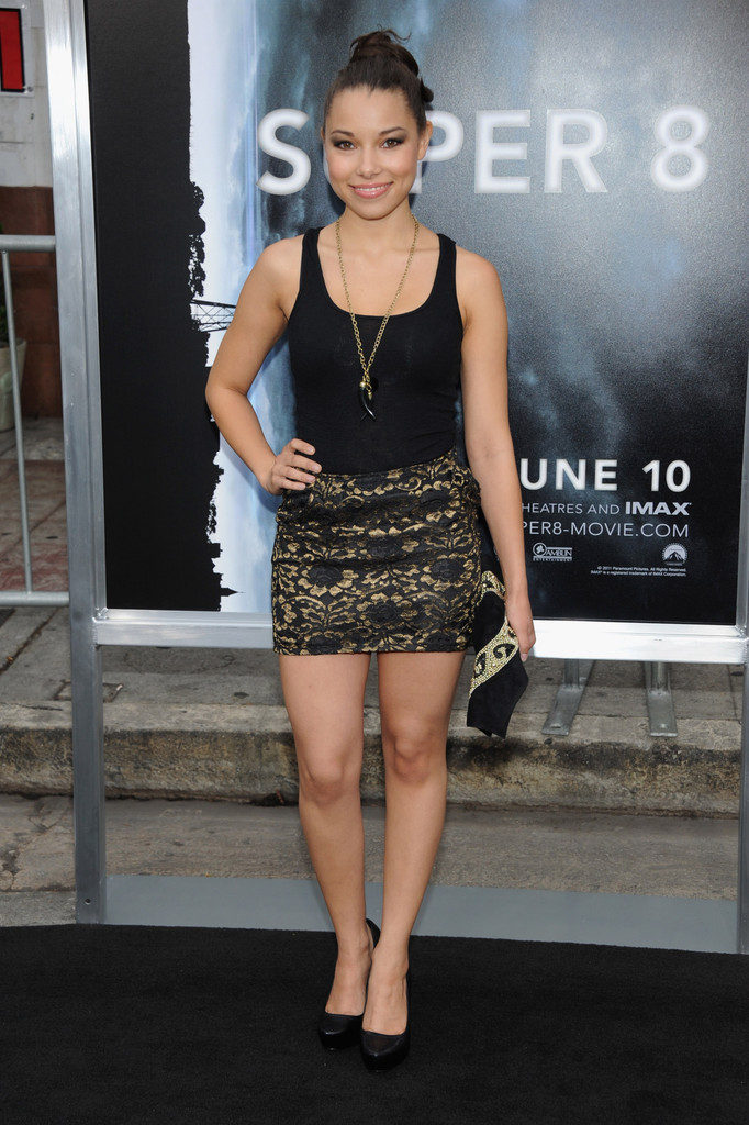 Jessica Parker Kennedy Sexy Legs Images In Short Dress