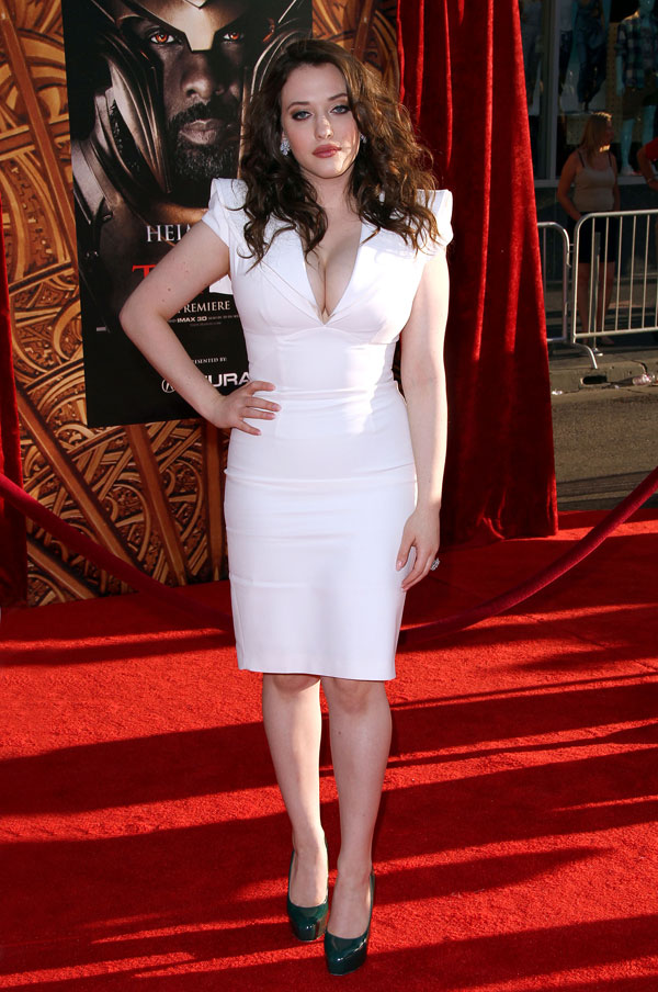 Kat Dennings Charming & Attractive Images