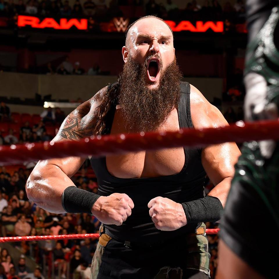 Braun Strowman Angry Look Pictures