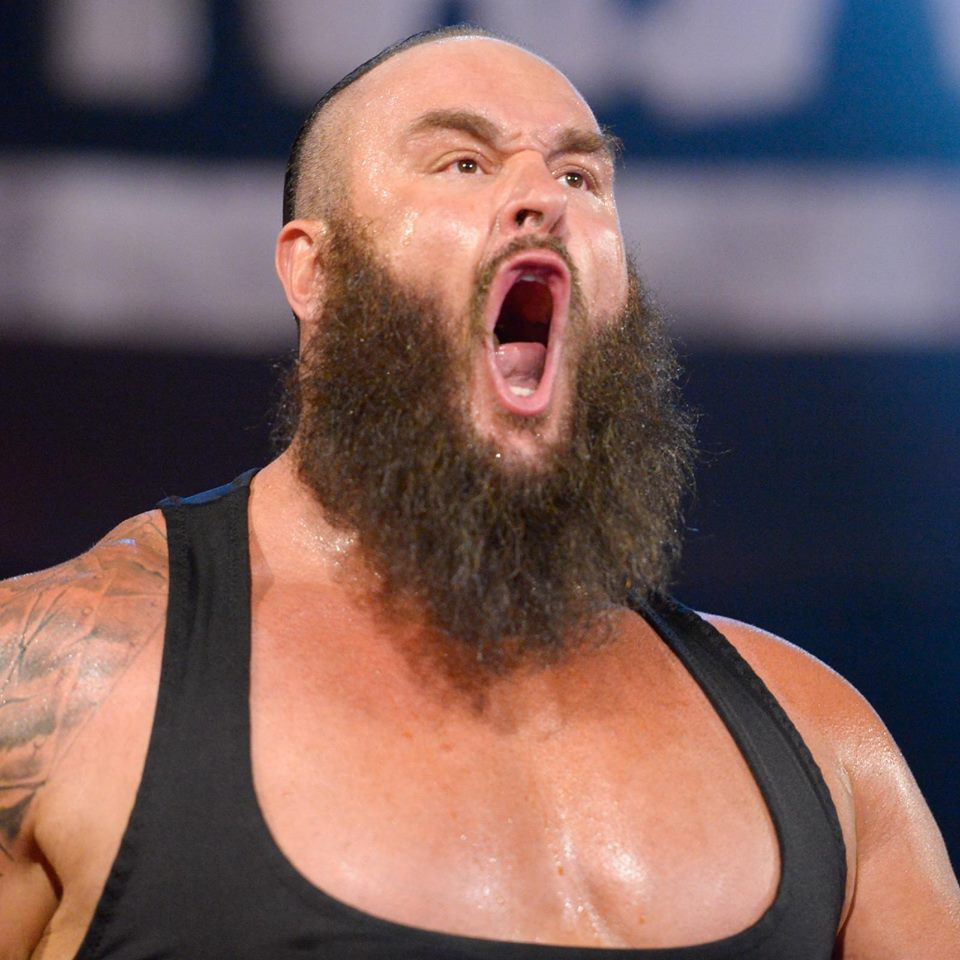 Braun Strowman Very Angry Images