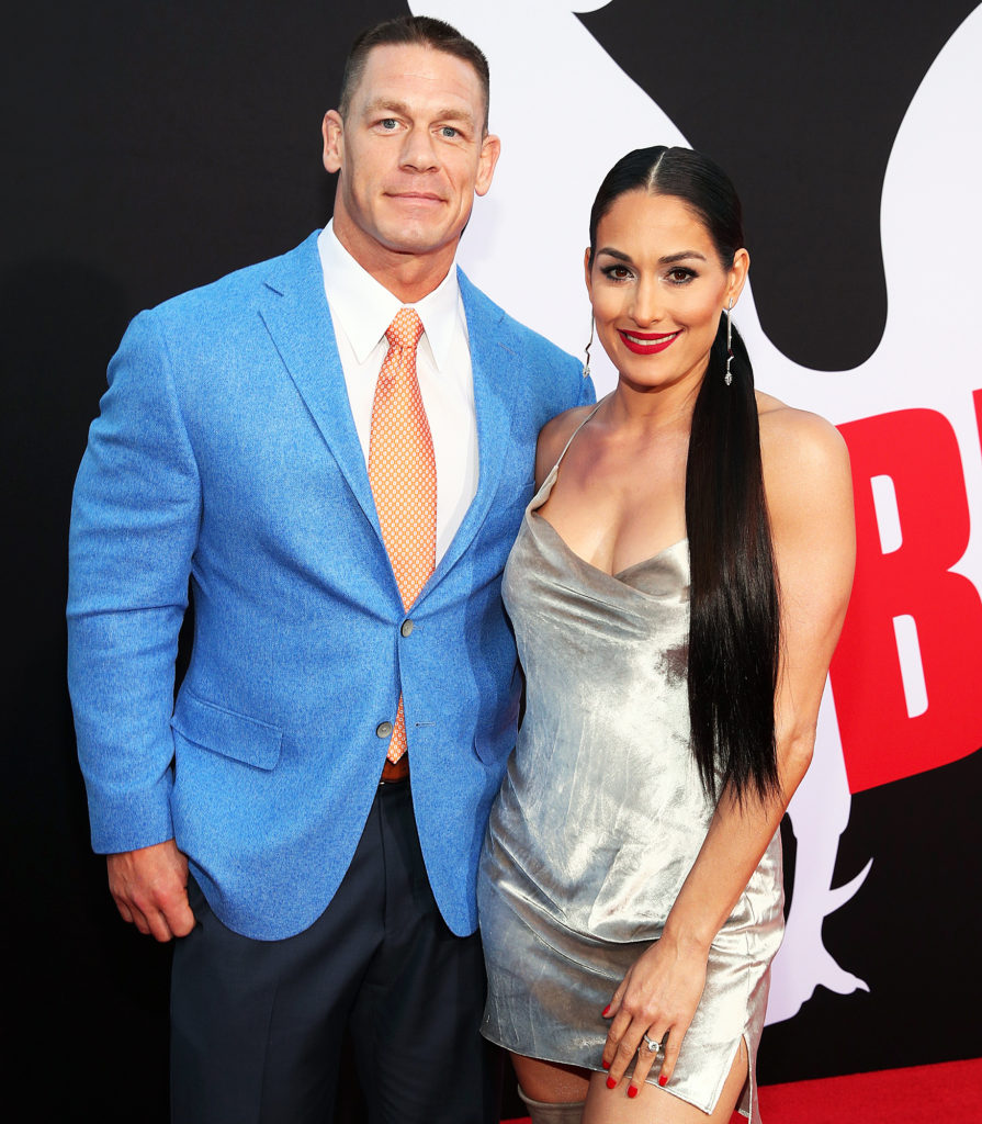 John Cena Beautiful Images With His Wife