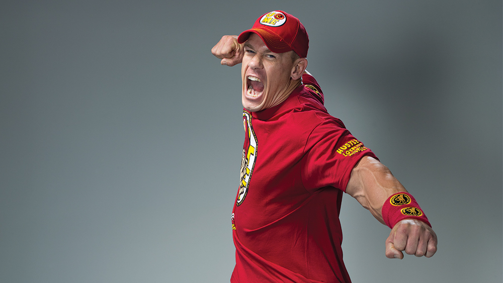 John Cena Engry Look Photos