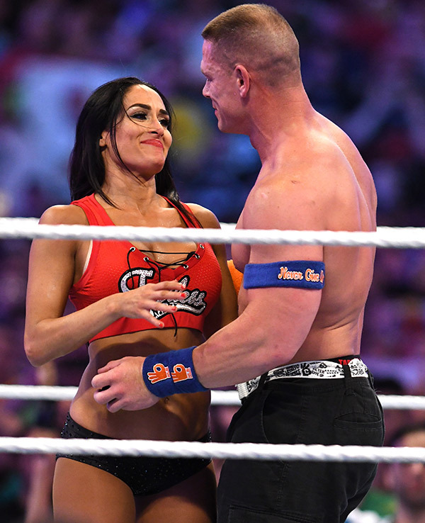 John Cena Images With His Partner Pics
