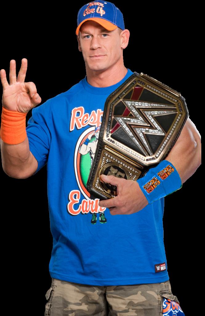 John Cena Photos With Trophy