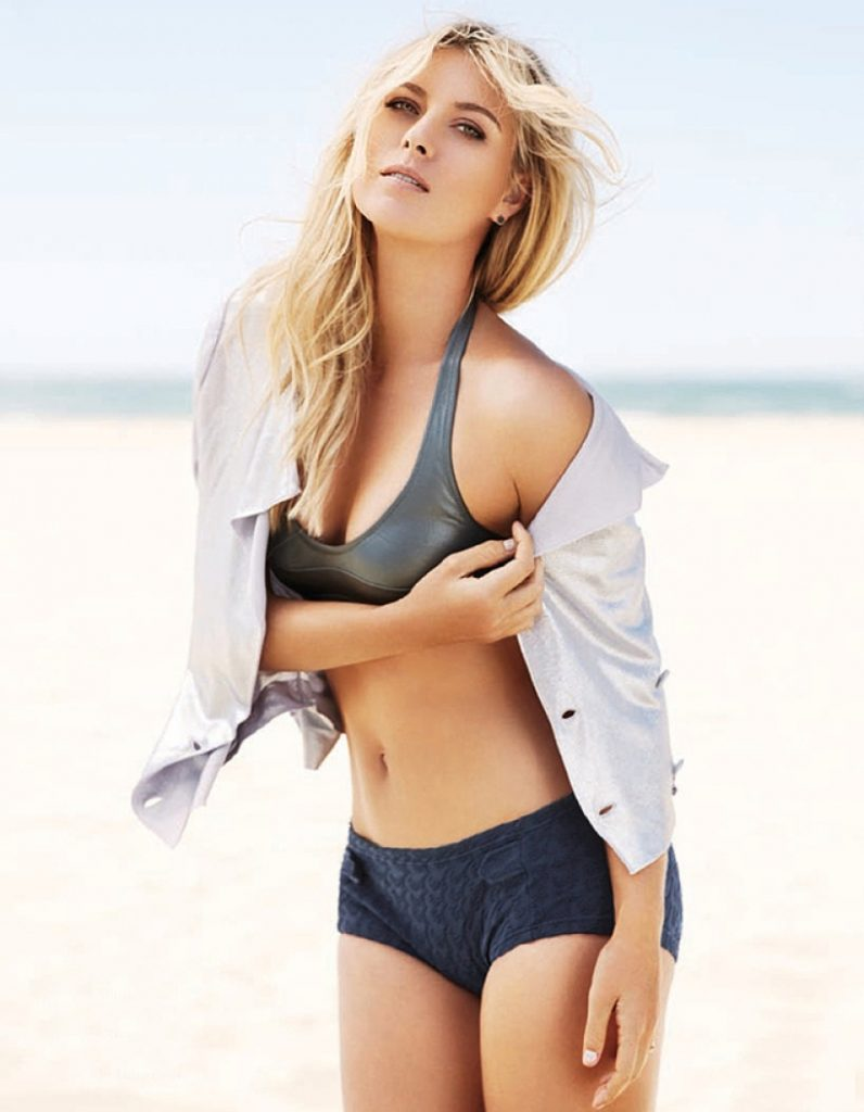Maria Sharapova Hot Navel Photos In Bikini