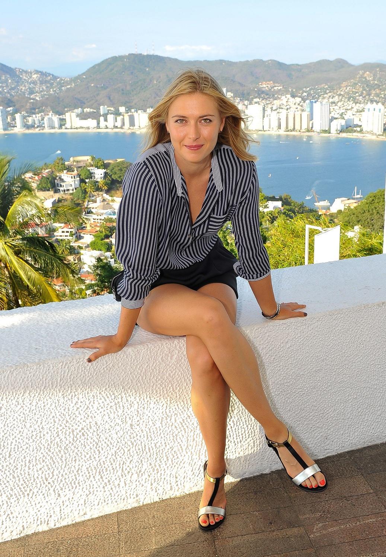 russian tennis player maria sharapova hot pics net worth