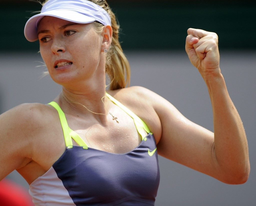 Maria Sharapova Smiling Images HD