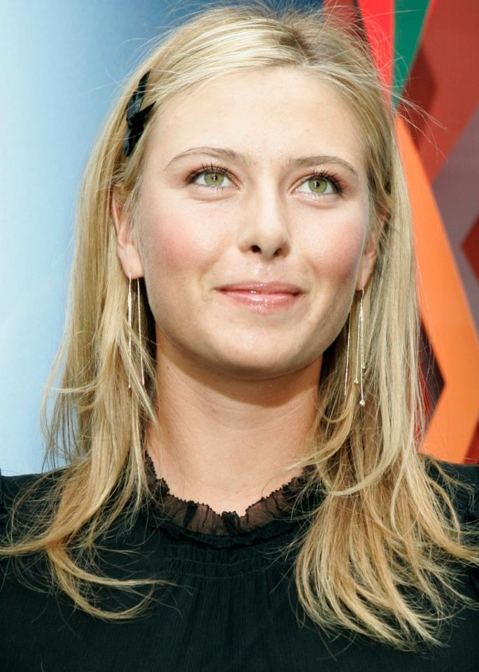 Maria Sharapova Unseen Wallpapers