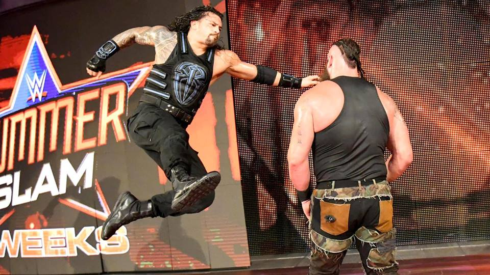 Roman Reigns Lovely Fight With Braun Strowman