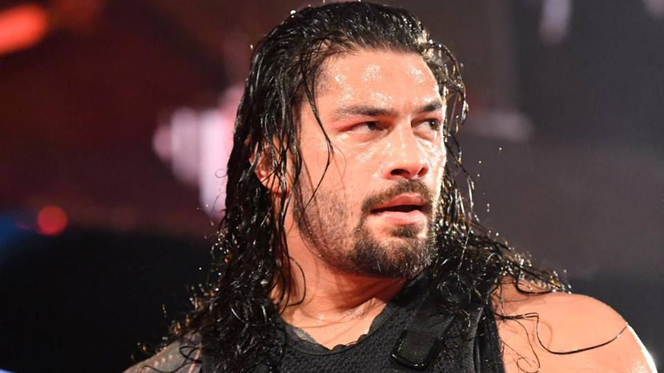 Roman Reigns New Hair Style Pics