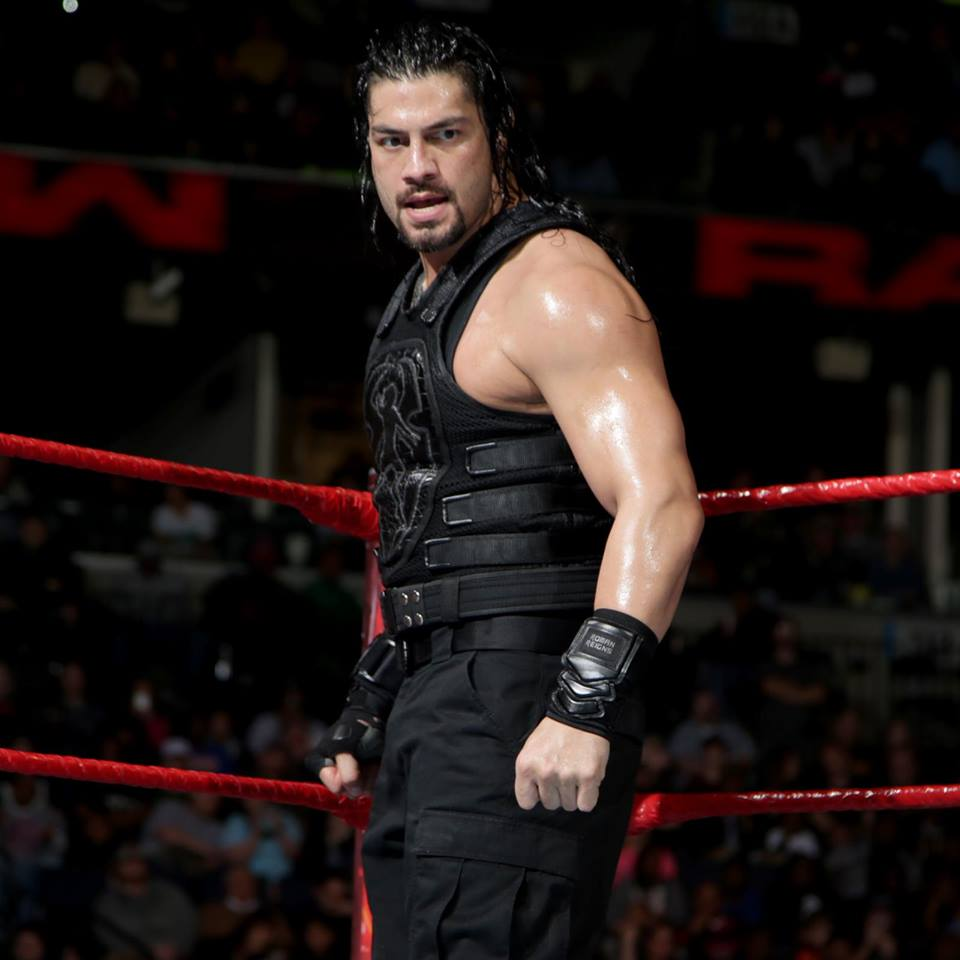 Wrestler Roman Reigns Angry Look Images