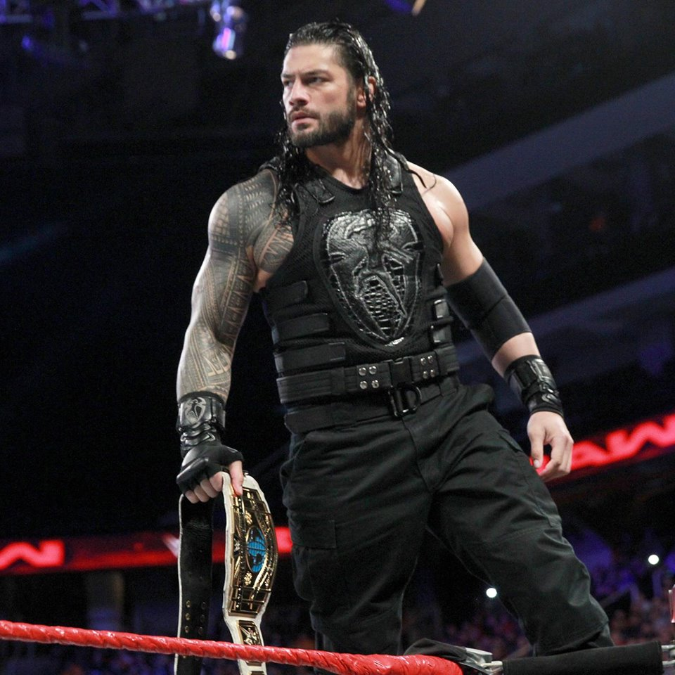 Wrestler Roman Reigns Hot Images
