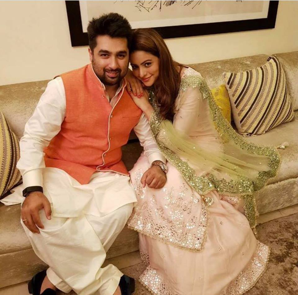 Aamna Sharif Hot Photos Gallery With Husband