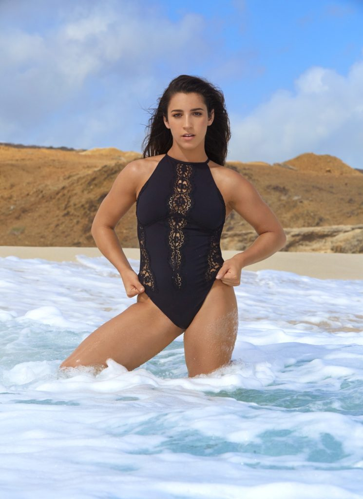 Aly Raisman Hot Images In Bikini