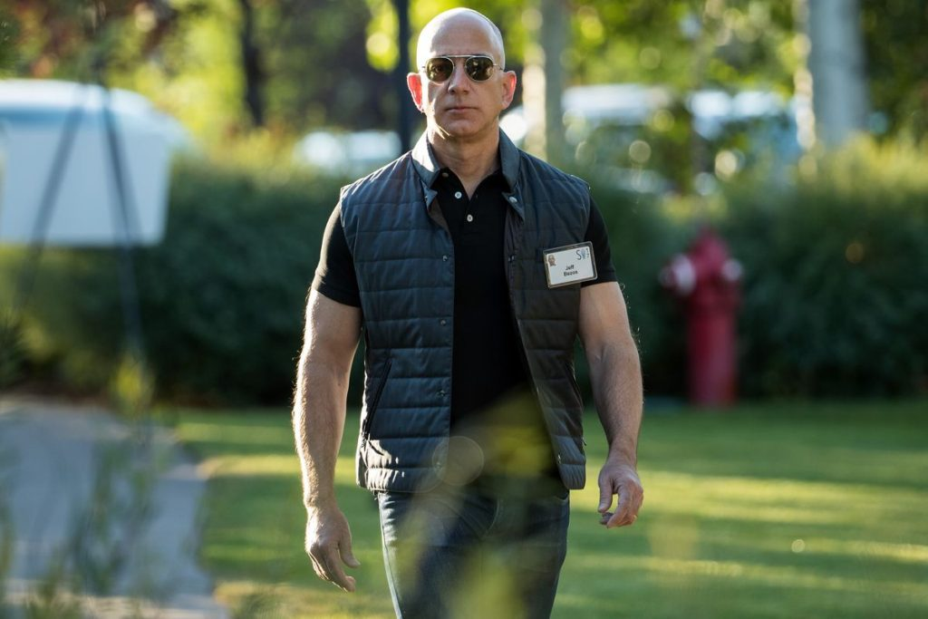 Amazon Officer Jeff Bezos Pictures