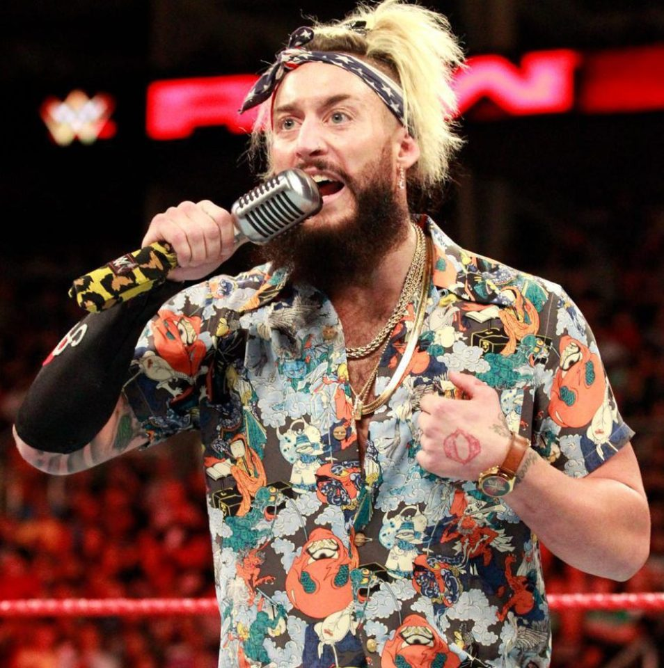 American Wrestler Enzo Amore Pictures