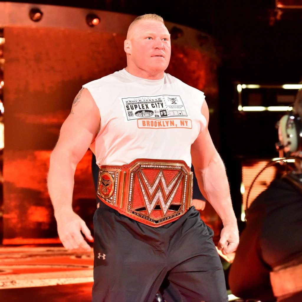 Brock Lesnar Biceps Photos