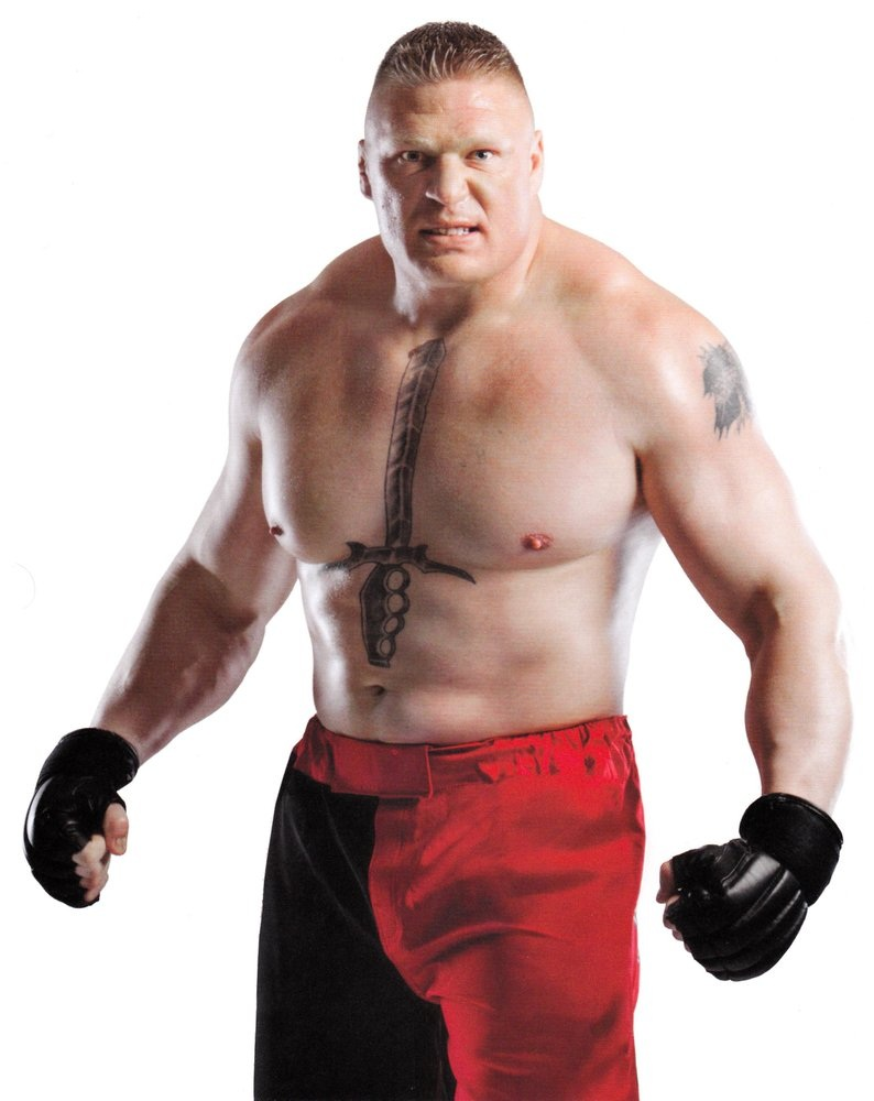 Brock Lesnar Height