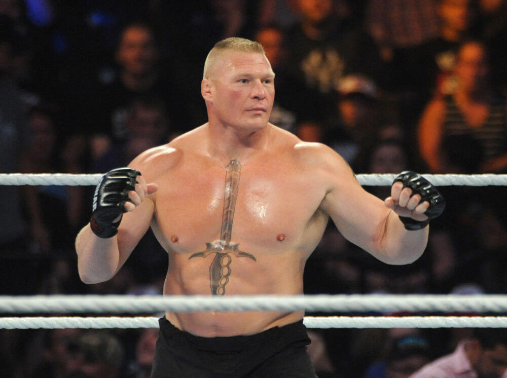 Charming Brock Lesnar Photos