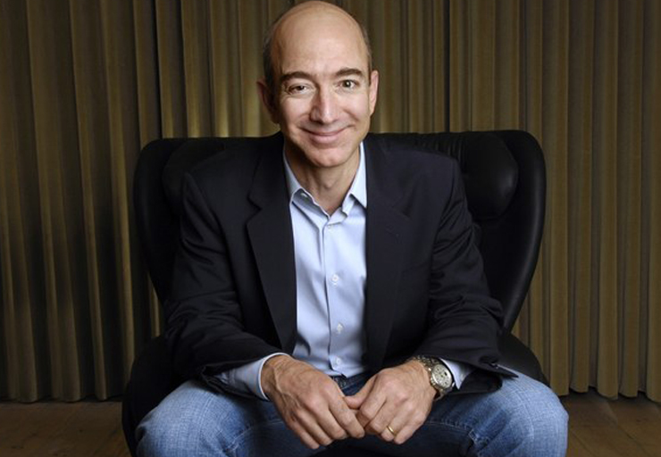 Charming Jeff Bezos Images